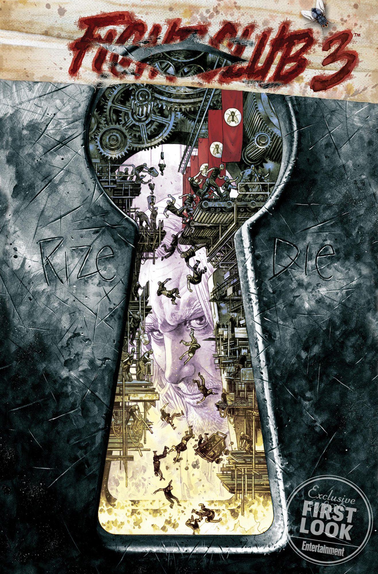 Fight Club 3 comic seriesCredit: Dark Horse Comics