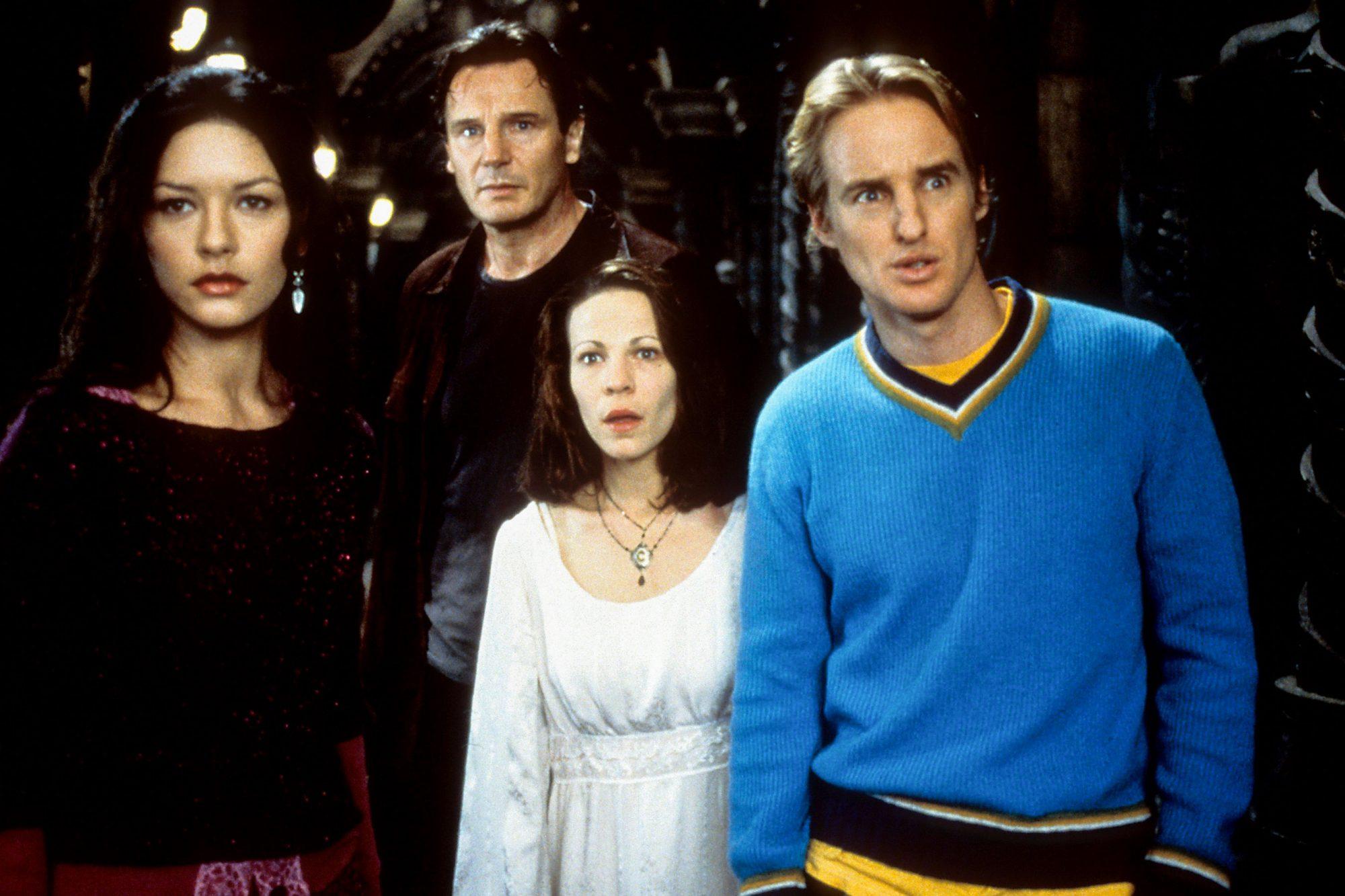 Catherine Zeta Jones And Liam Neeson In 'The Haunting'