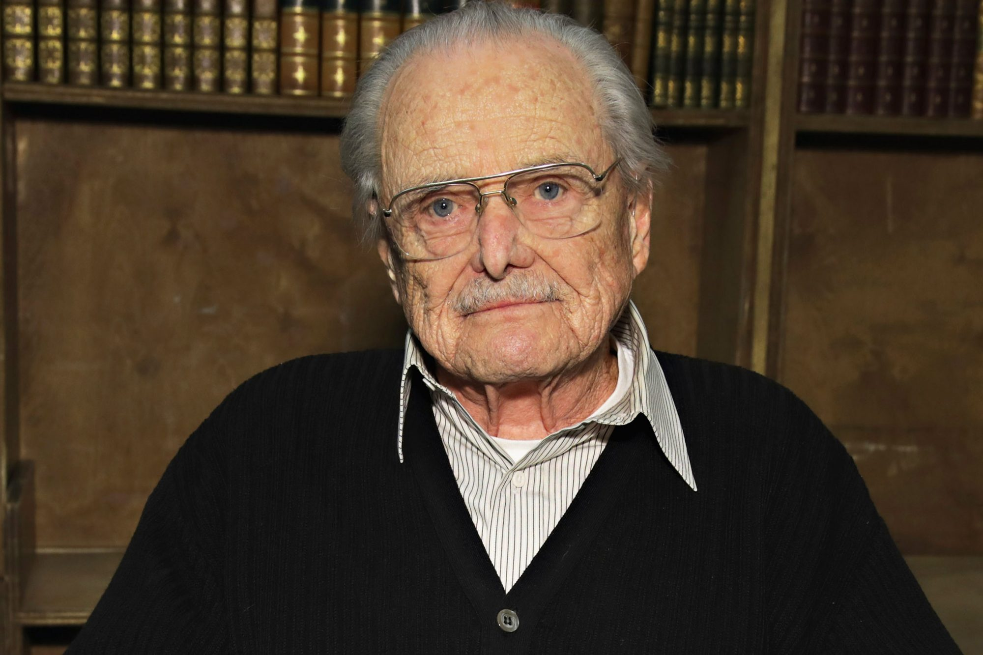 """William Daniels Signs Copies """"There I Go Again: How I Came To Be Mr. Feeny, John Adams, Dr. Craig, KITT, And Many Others"""""""