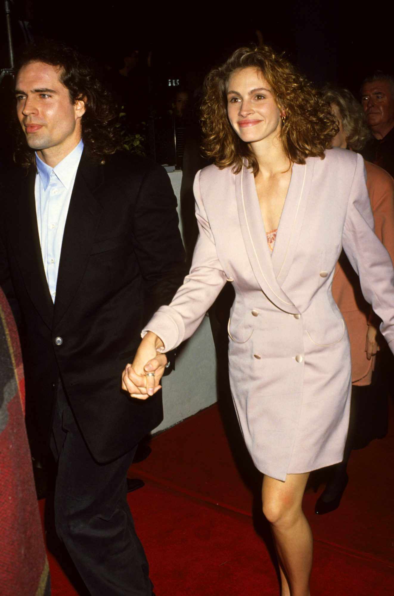 At the L.A. premiere of Rush, 1991