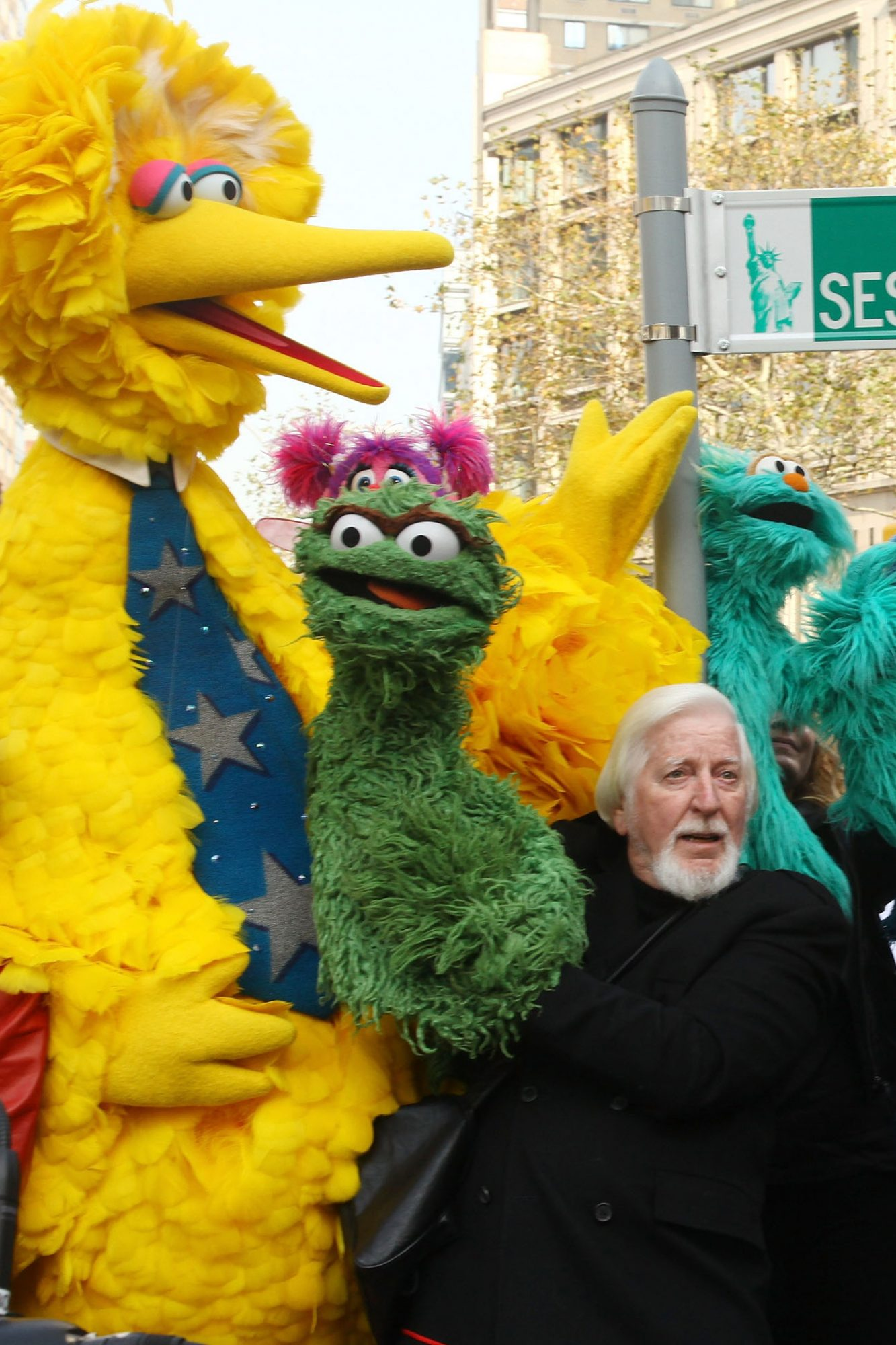 """Sesame Street"" 40th Anniversary Temporary Street Renaming"