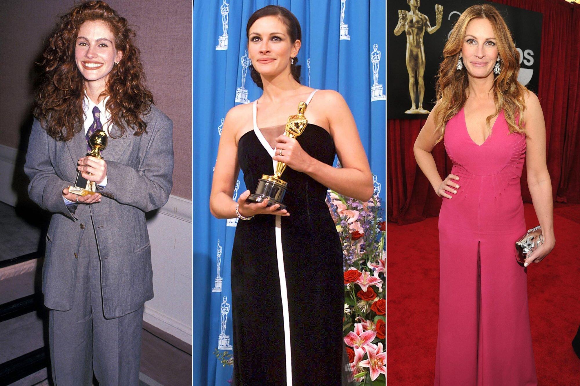 Julia Roberts Style Best Red Carpet Fashion Moments Ew Com