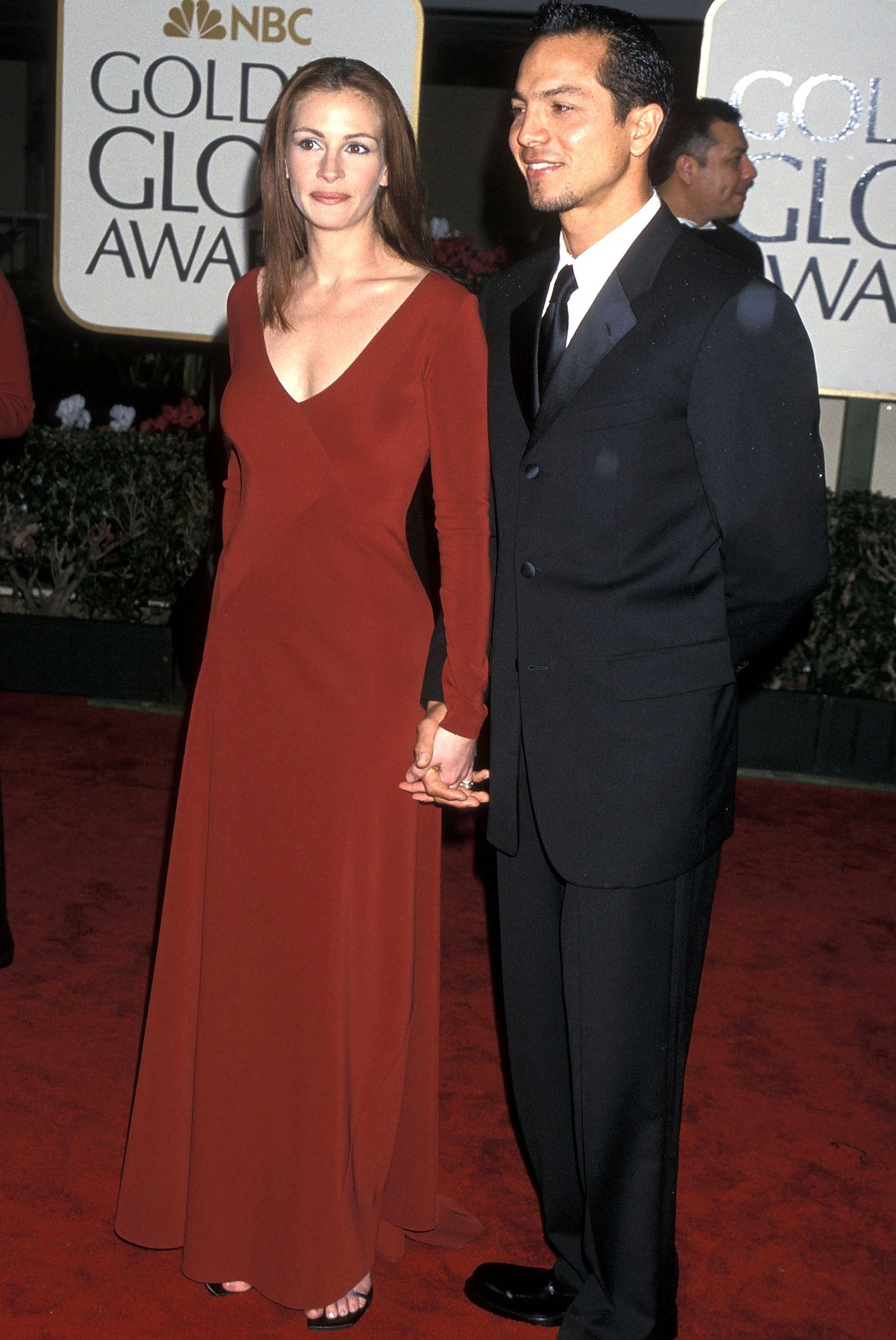 At the Golden Globes, 2000