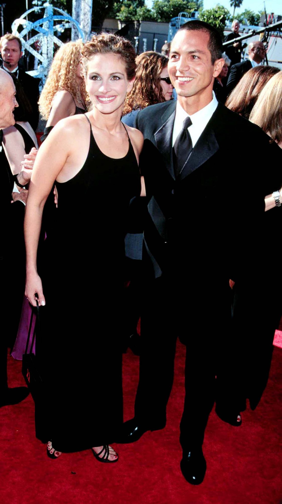 At the Emmys, 1999