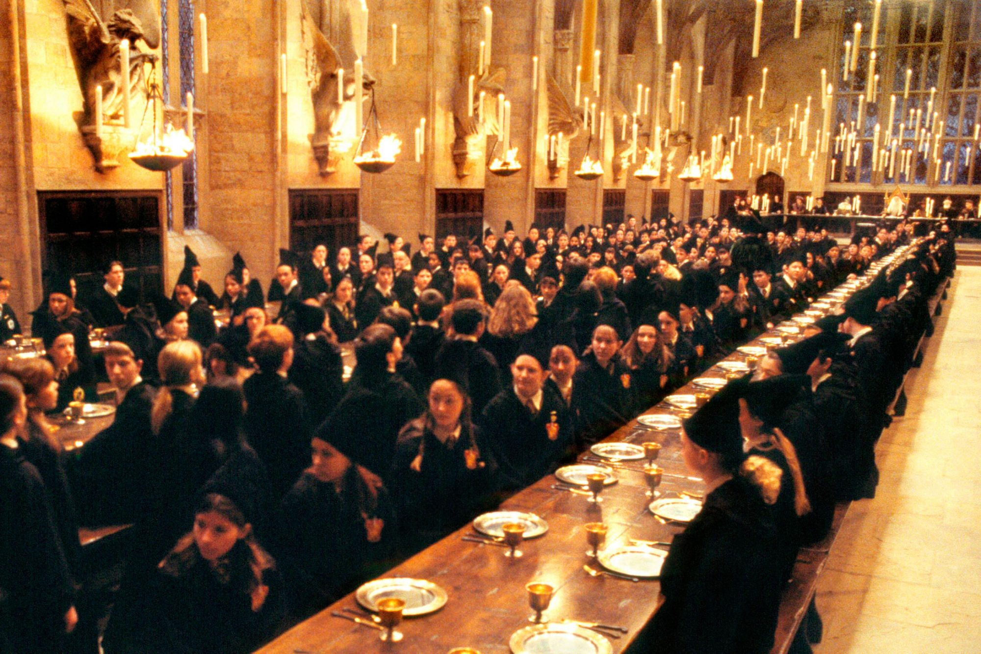 Harry Potter and the Sorcerer's StoneThe Great Hall