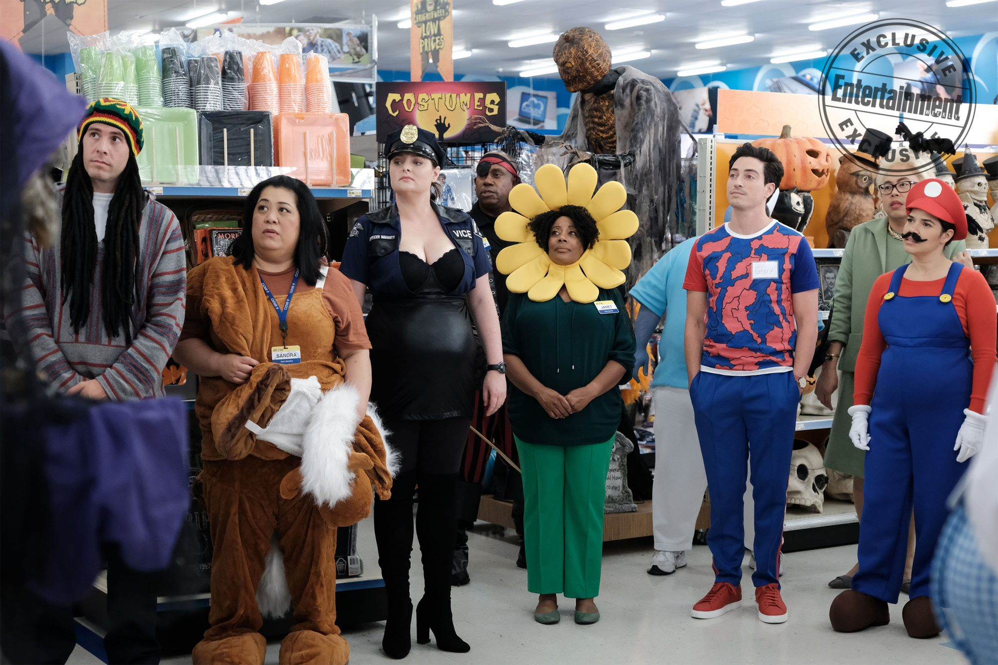 Superstore does Halloween