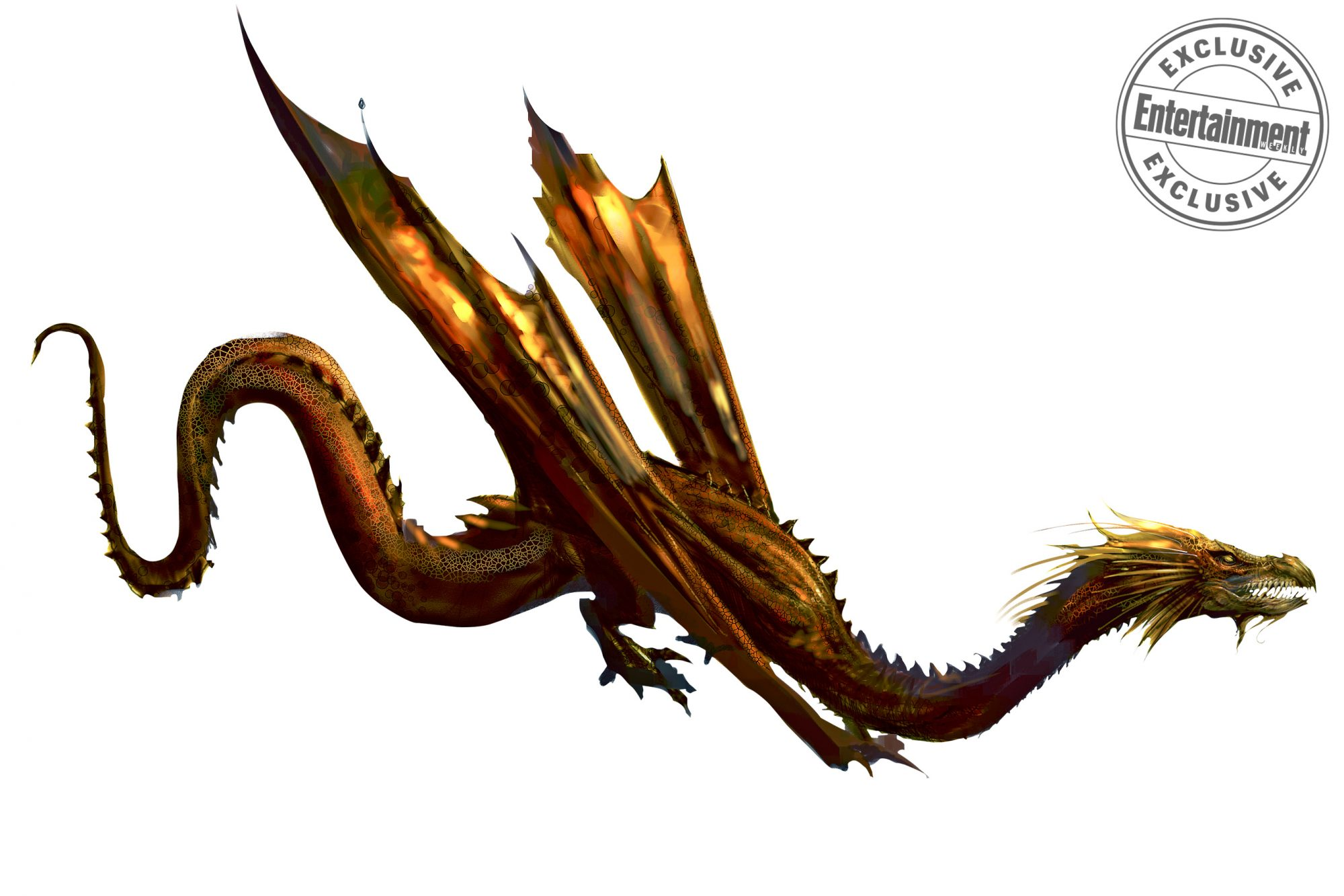 Harry Potter and the Goblet of FireChinese Fireball Dragon concept art