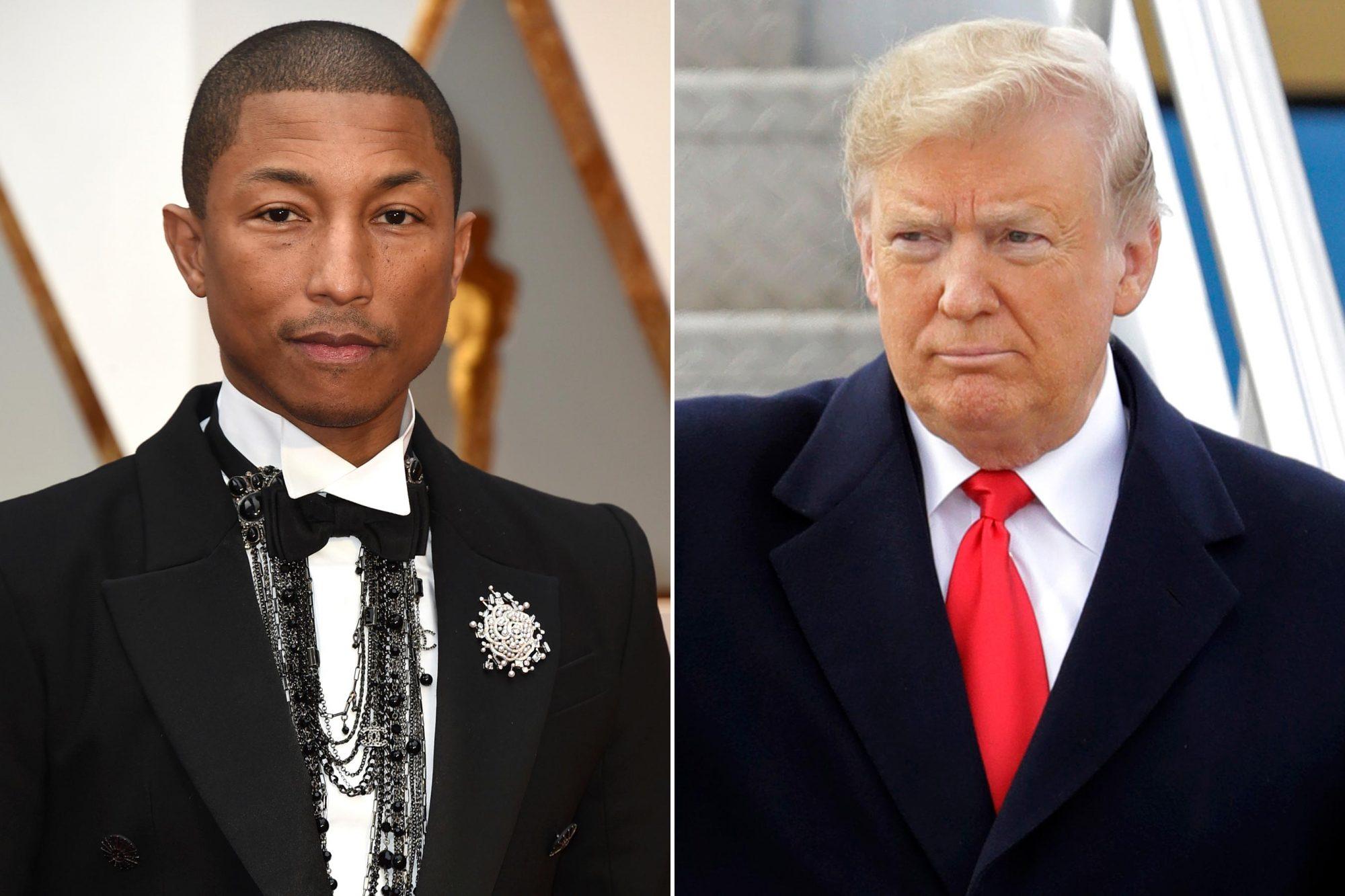 Pharrell-Trump