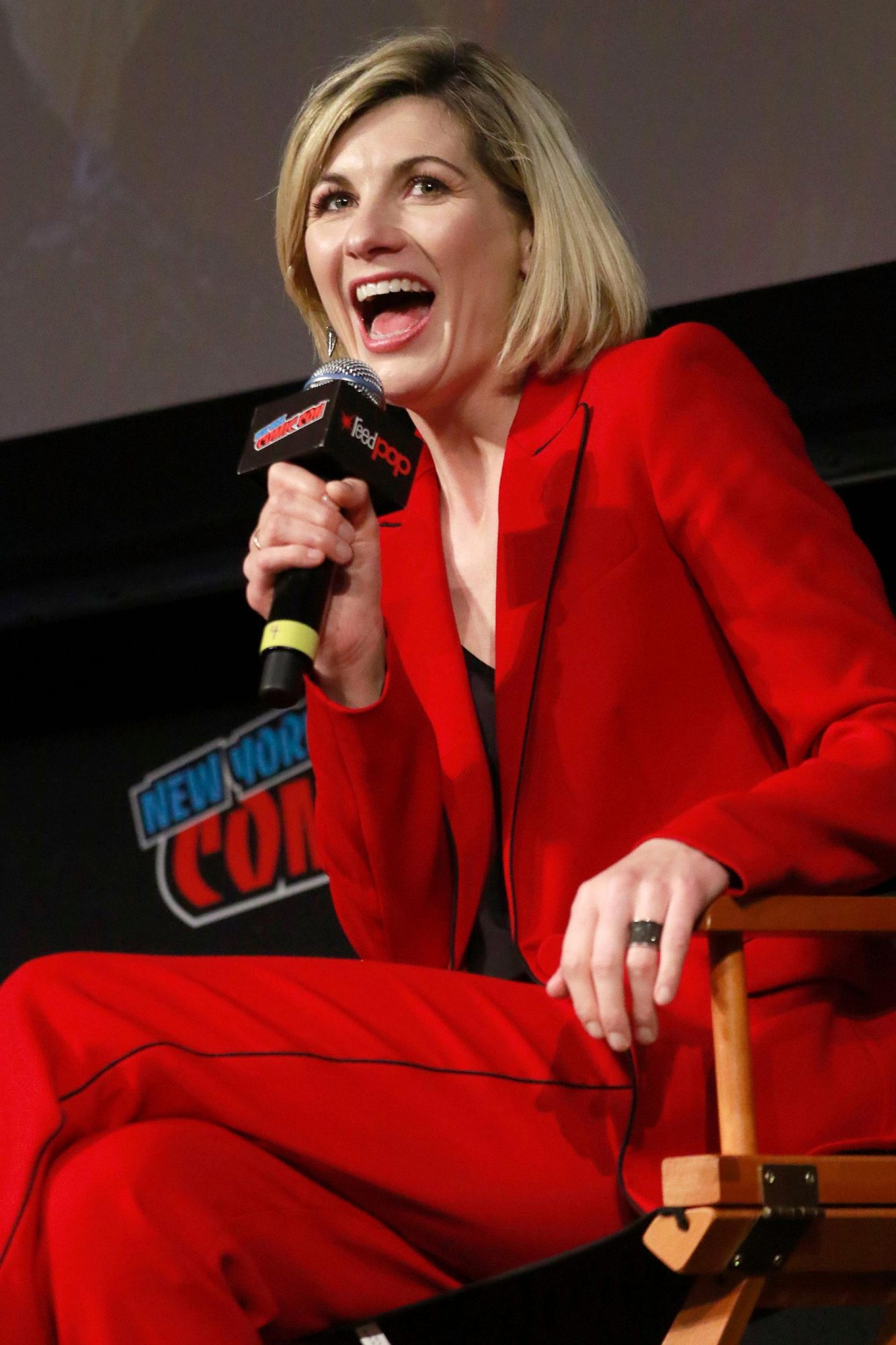 'Doctor Who' TV show panel, New York Comic Con, USA - 07 Oct 2018