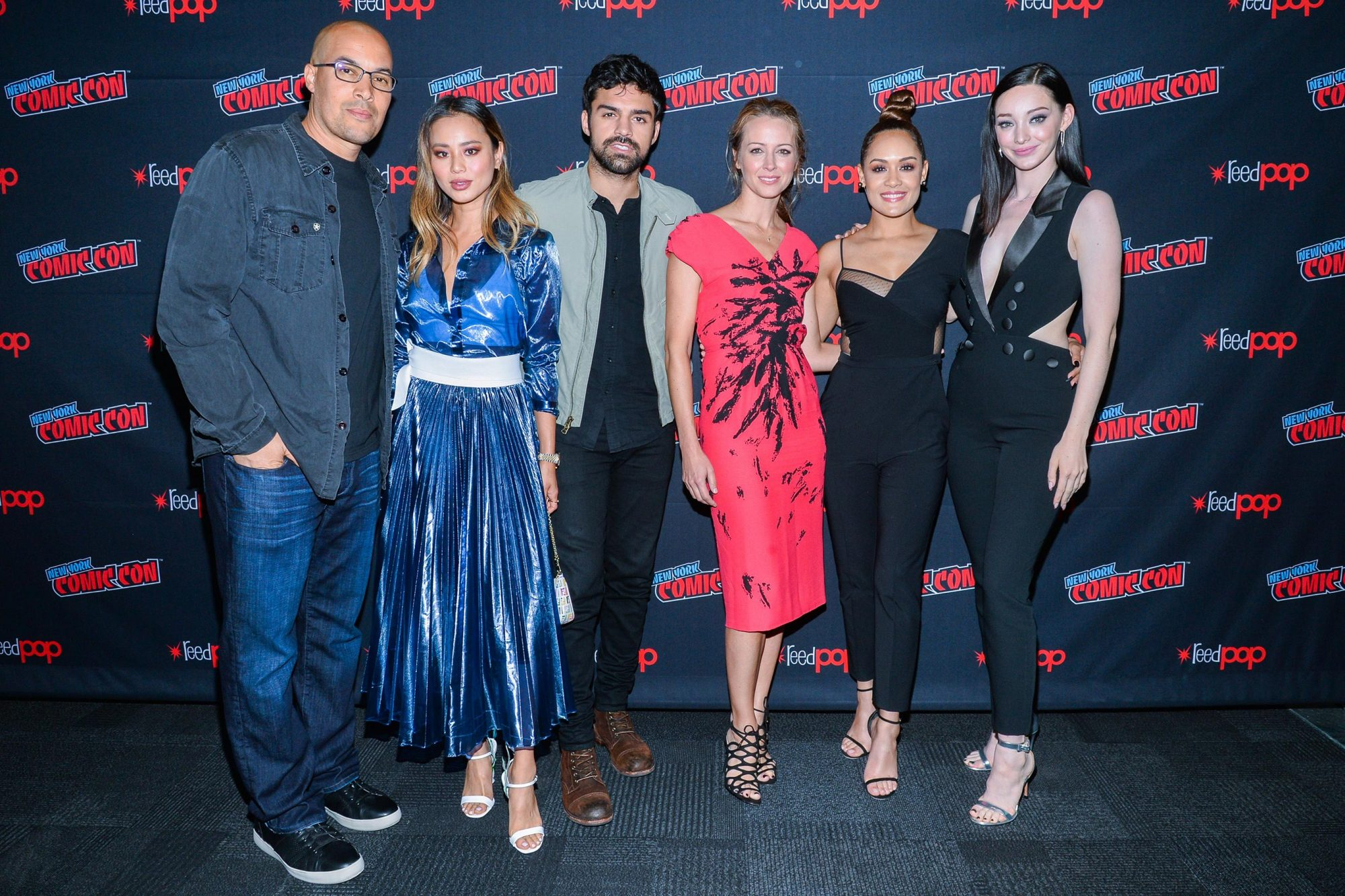 'The Gifted' TV show panel, New York Comic Con, USA - 07 Oct 2018