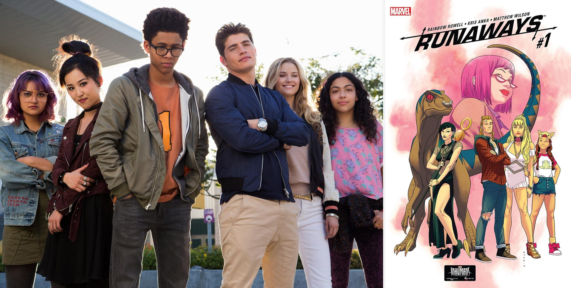 If you watch Marvel's Runaways...read Runaways: Find Your Way Home