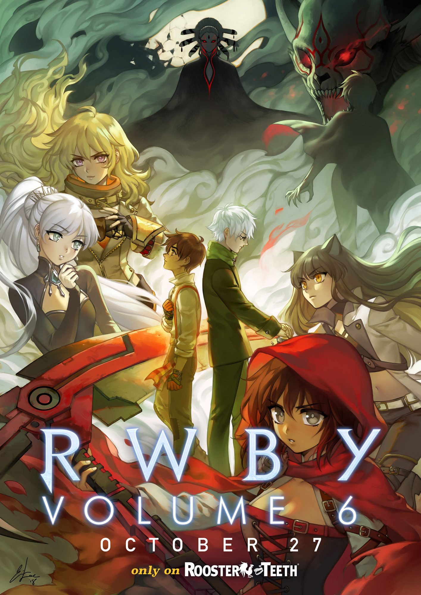 'RWBY': Exclusive first look at Vol. 6 posterCredit: Rooster Teeth
