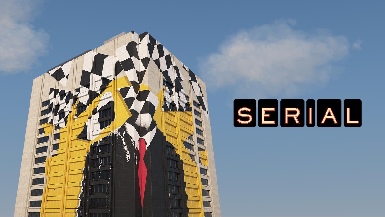 Serial Season 3 Key Art - Credit Moth Studio (Building), Adam Maida (Mural)