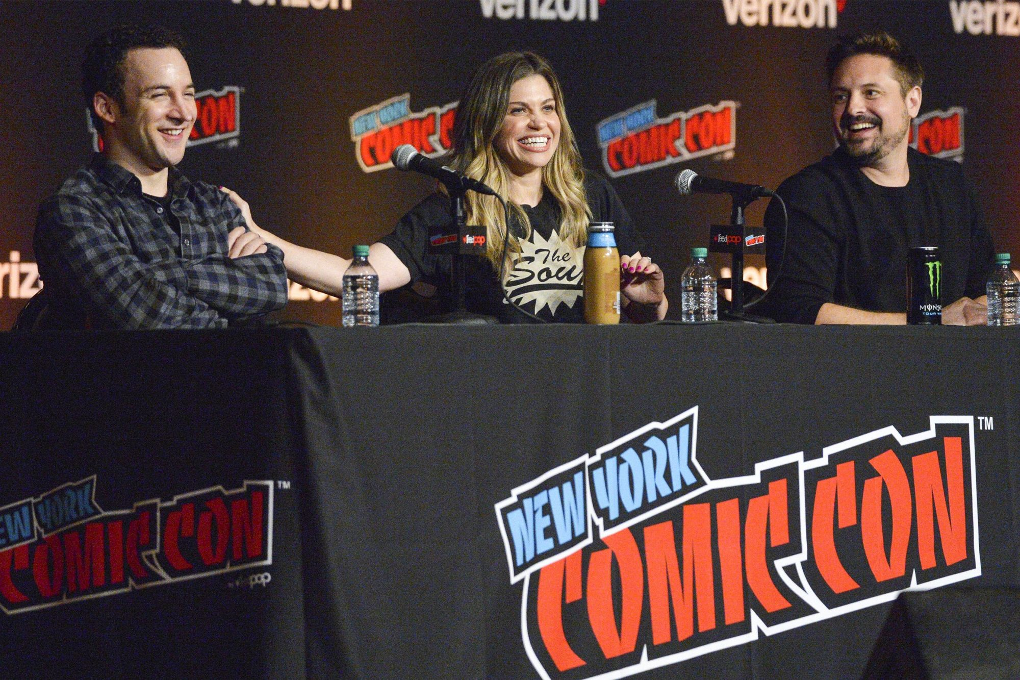 'Boy Meets World' 25th Anniversary Reunion TV show panel, New York Comic Con, USA - 05 Oct 2018