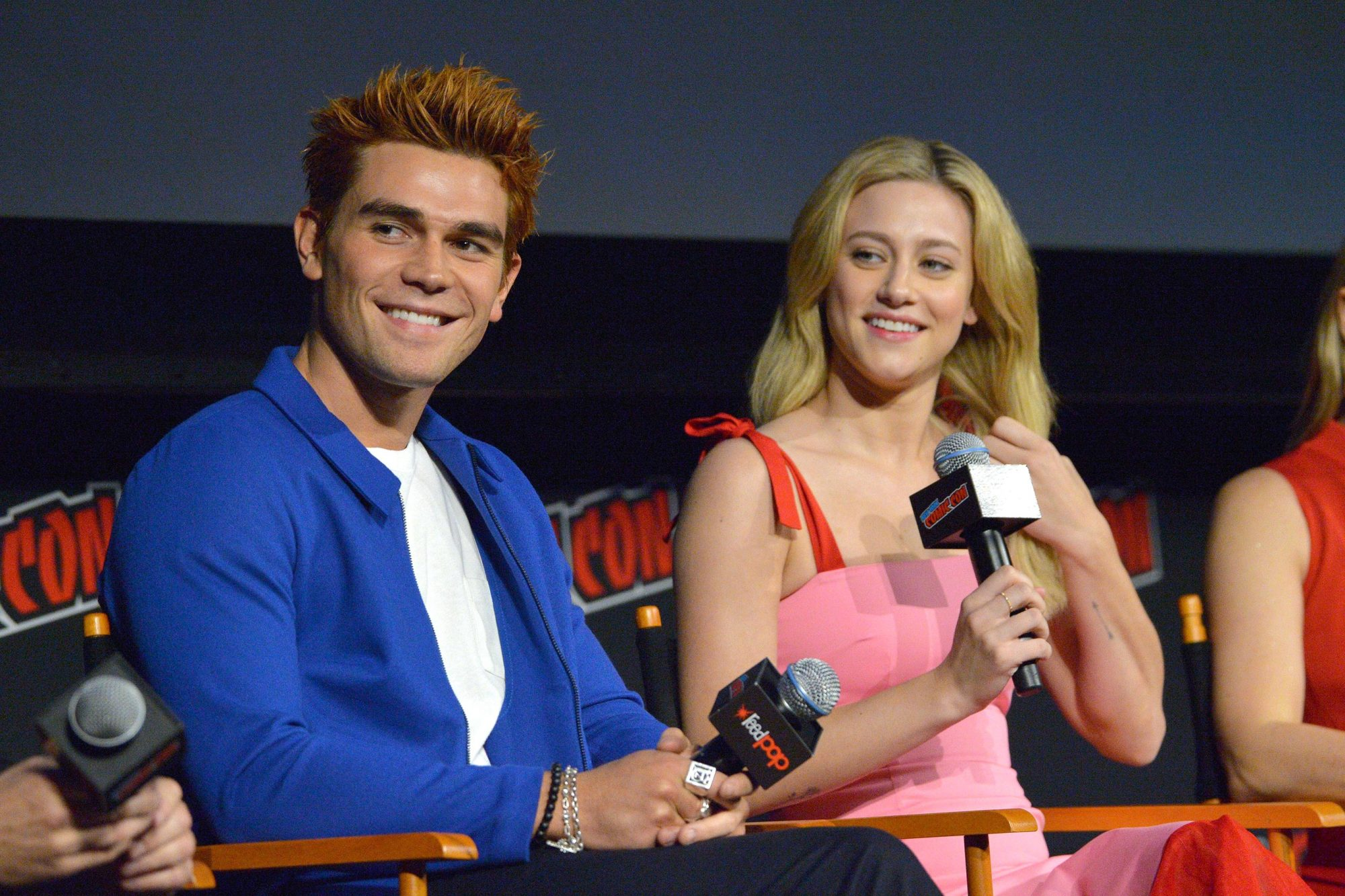 'Riverdale' TV show panel, New York Comic Con, USA - 07 Oct 2018