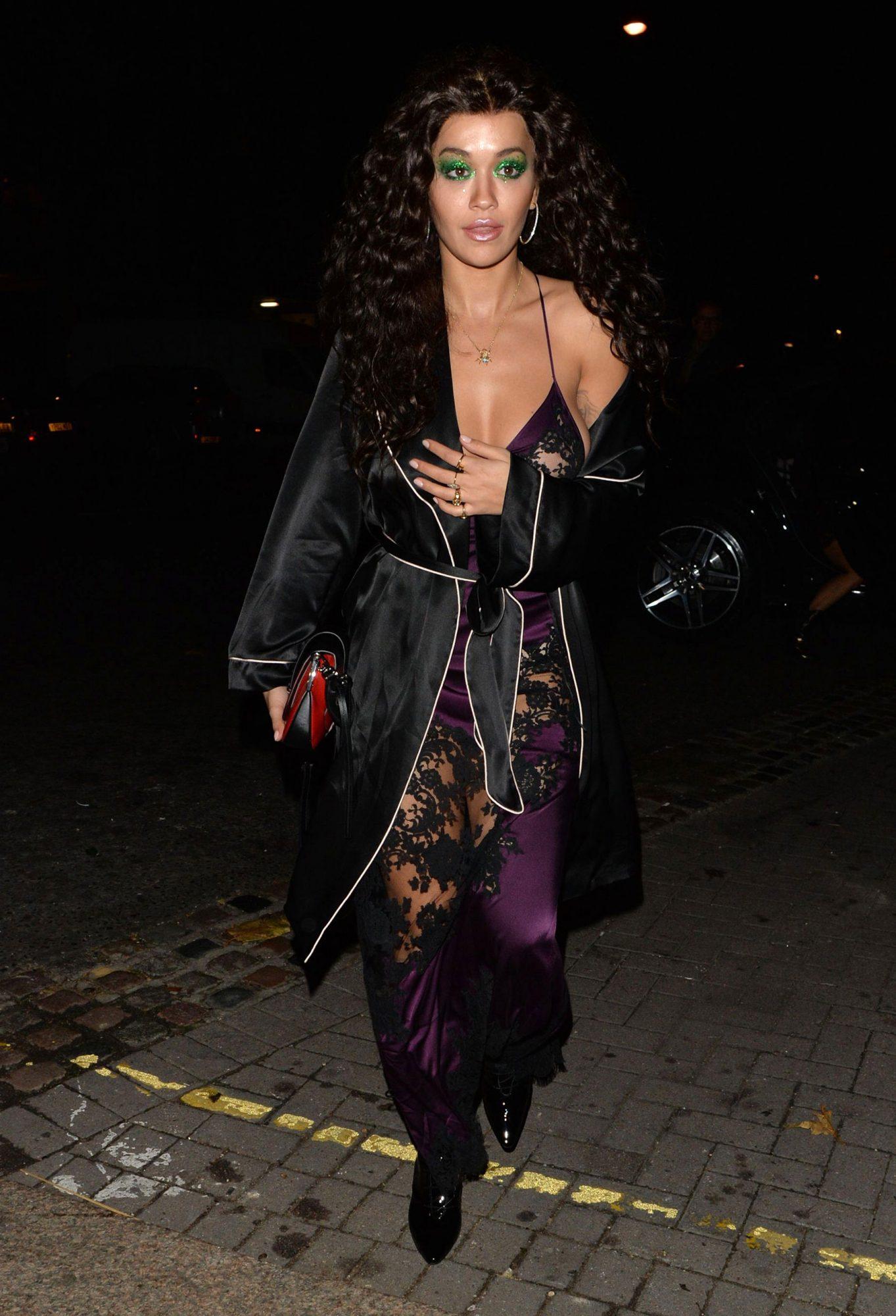 Rita Ora Halloween party, London, UK - 31 Oct 2018