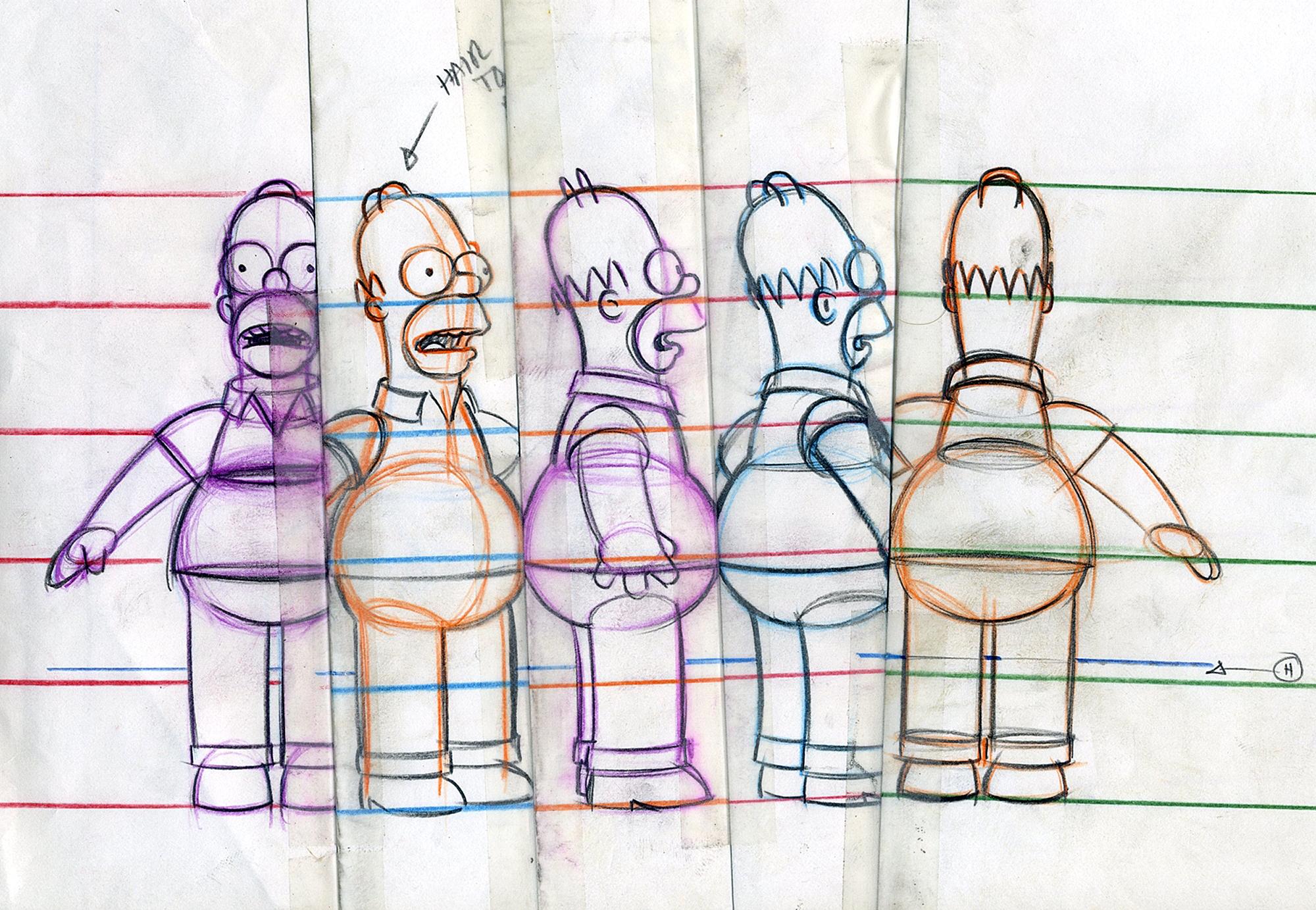 The SimpsonsCredit: Bob Anderson