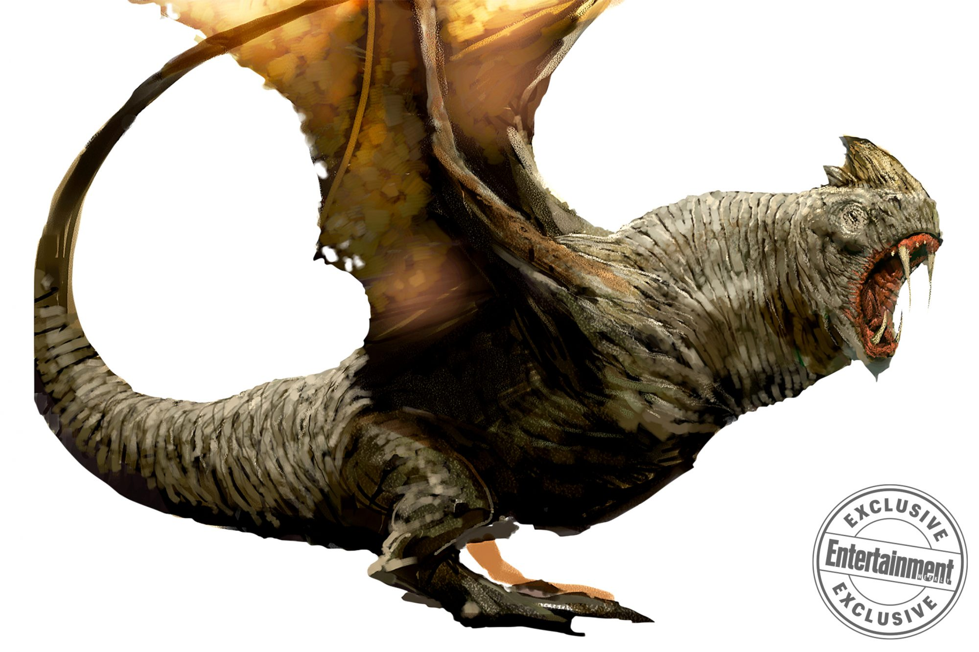 Harry Potter and the Goblet of FireSwedish Short Snout Dragon concept art