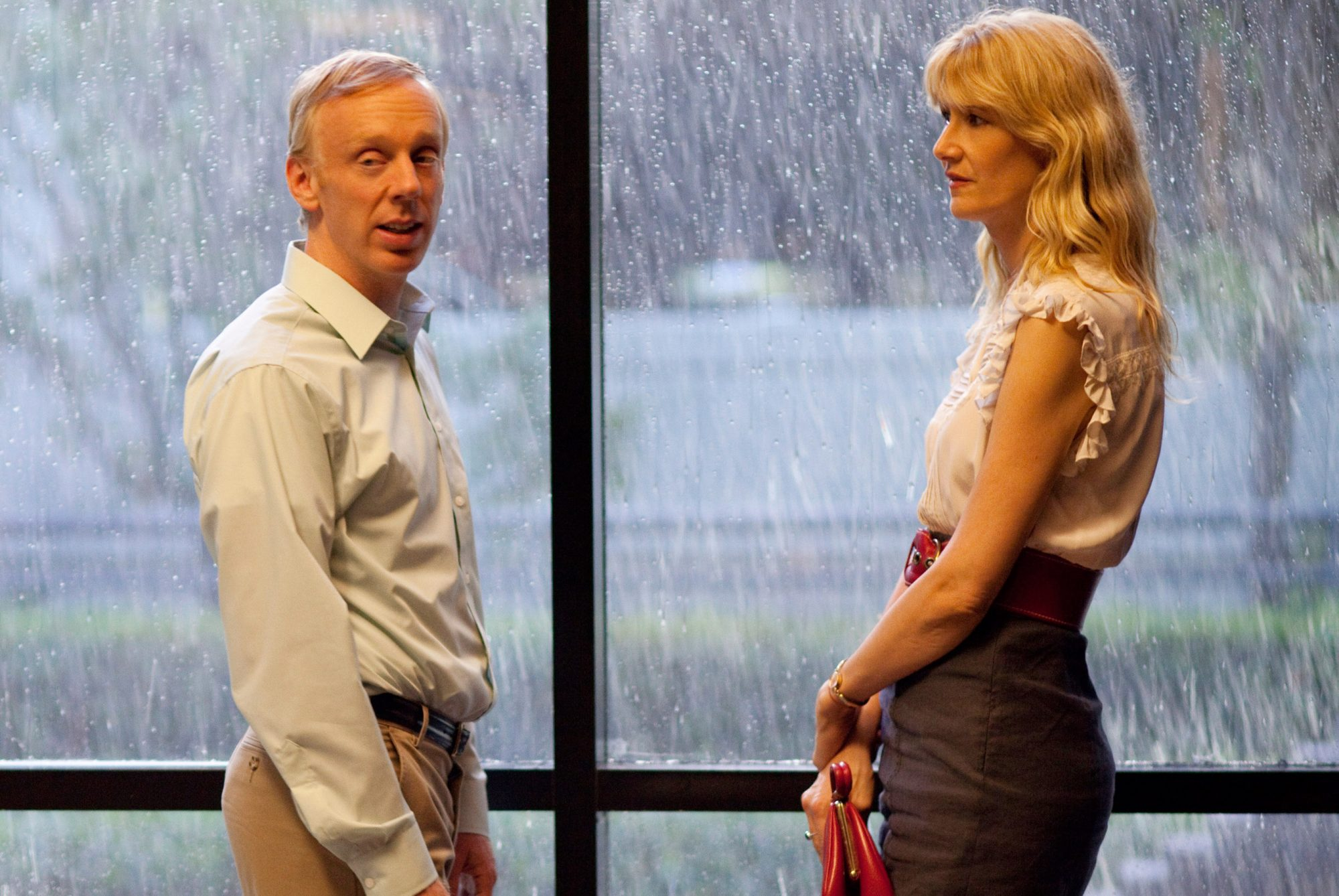 ENLIGHTENED, l-r: Mike White, Laura Dern (Season 1), 2011-13. ph: Nicola Goode/©HBO/courtesy Everett