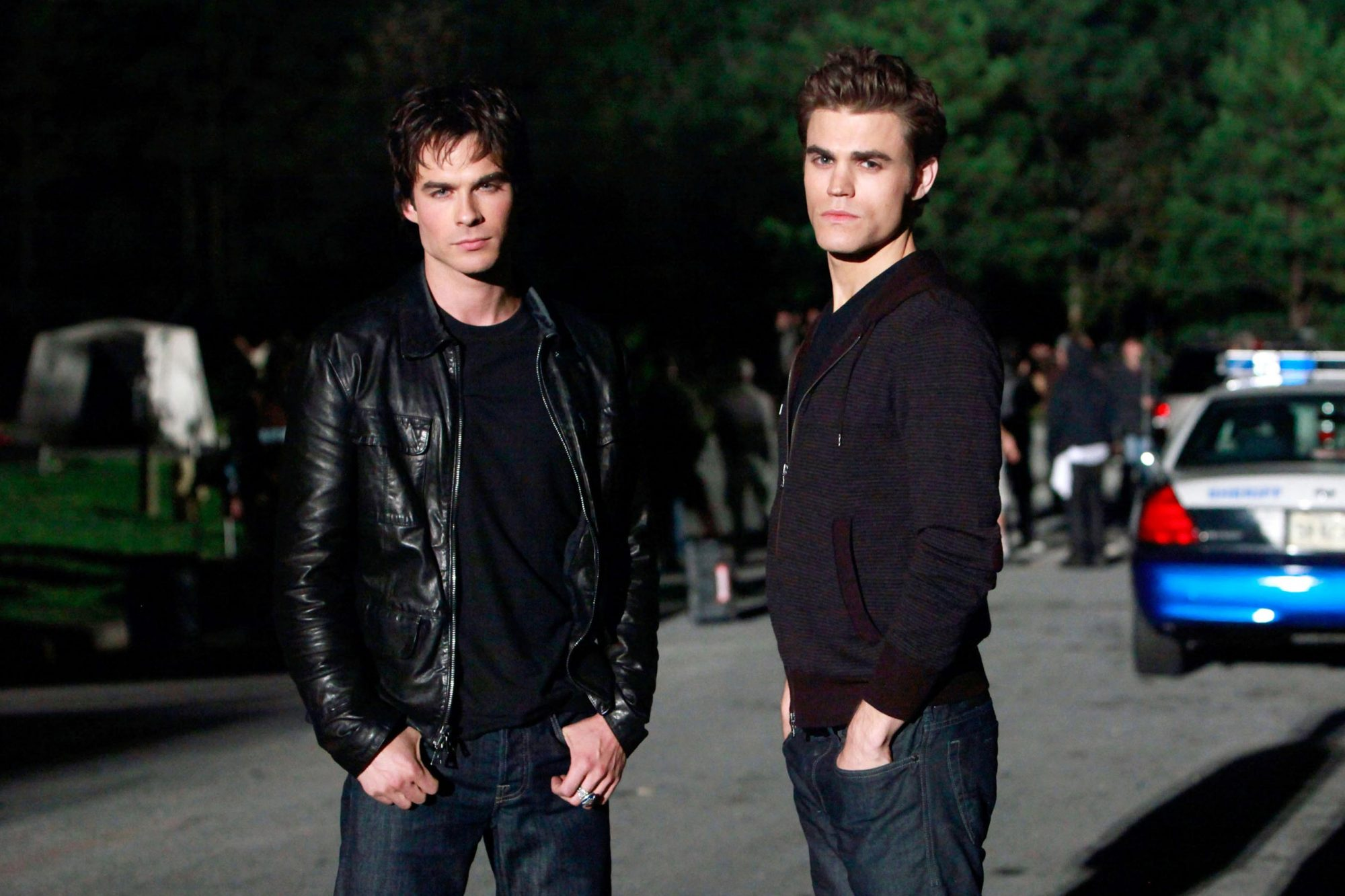 THE VAMPIRE DIARIES, Ian Somerhalder, Paul Wesley, ' The Turning Point ', (Season 1, November 19, 20