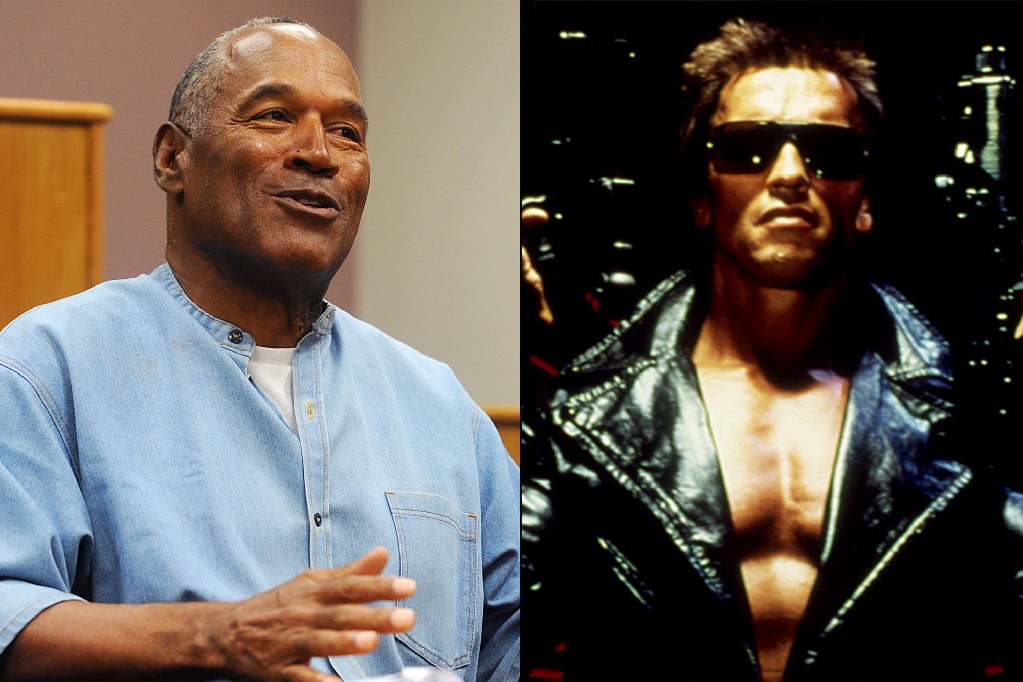 O.J. Simpson in The Terminator
