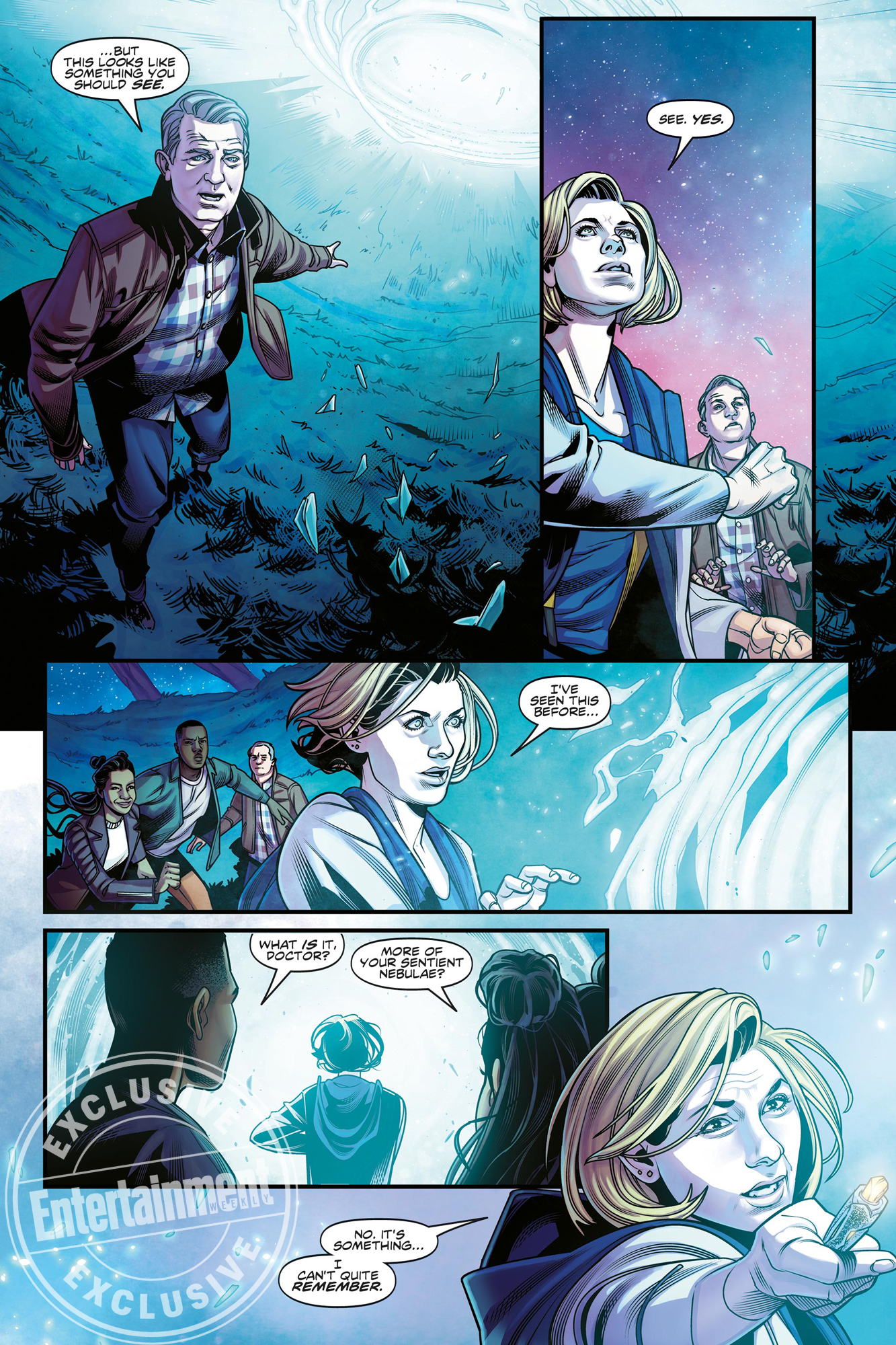 The Thirteenth Doctor comic BBC