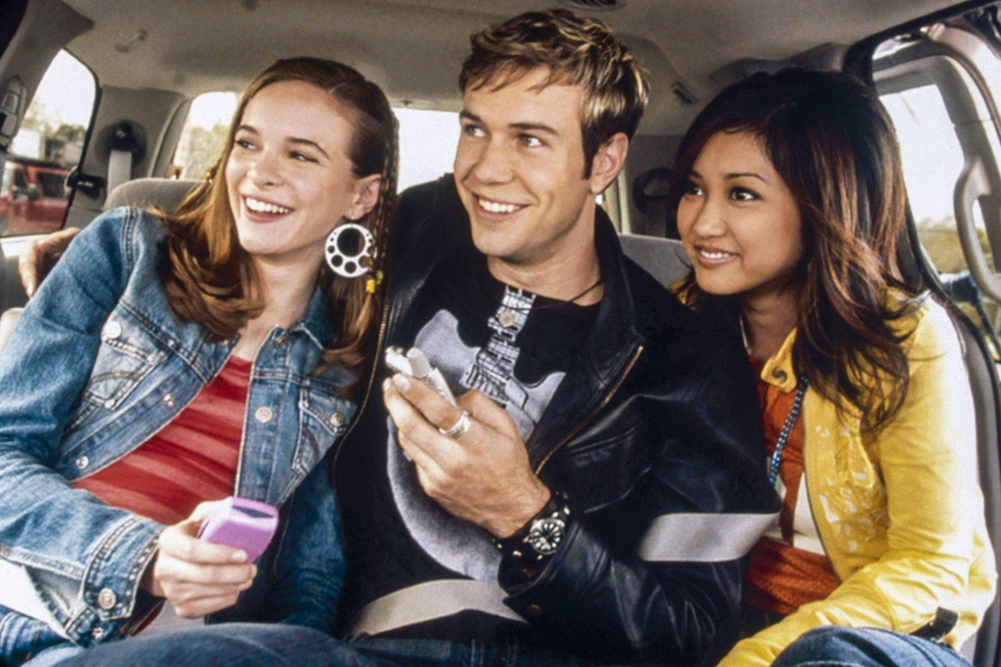 STUCK IN THE SUBURBS, from left: Danielle Panabaker, Taran Killam, Brenda Song, 2004, © Disney