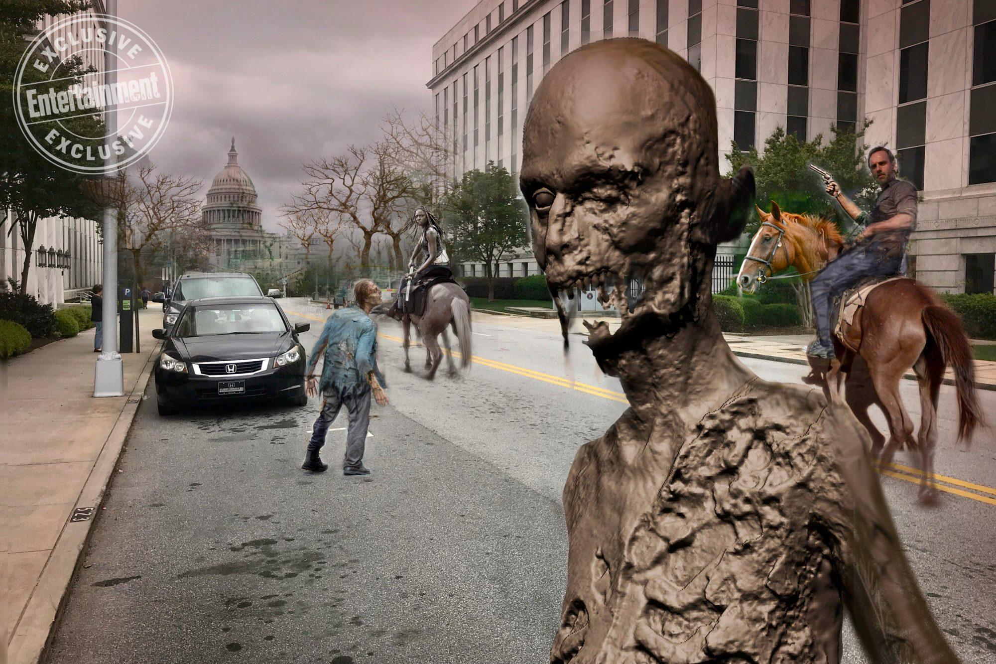 Walking Dead Concept Art from Season 9, Episode 1Courtesy of Greg Nicotero
