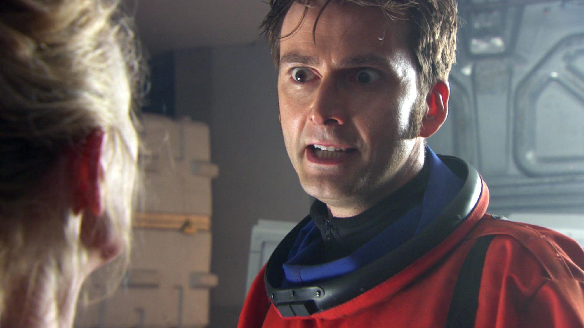 Doctor Who screen grab Credit: BBC AMERICA