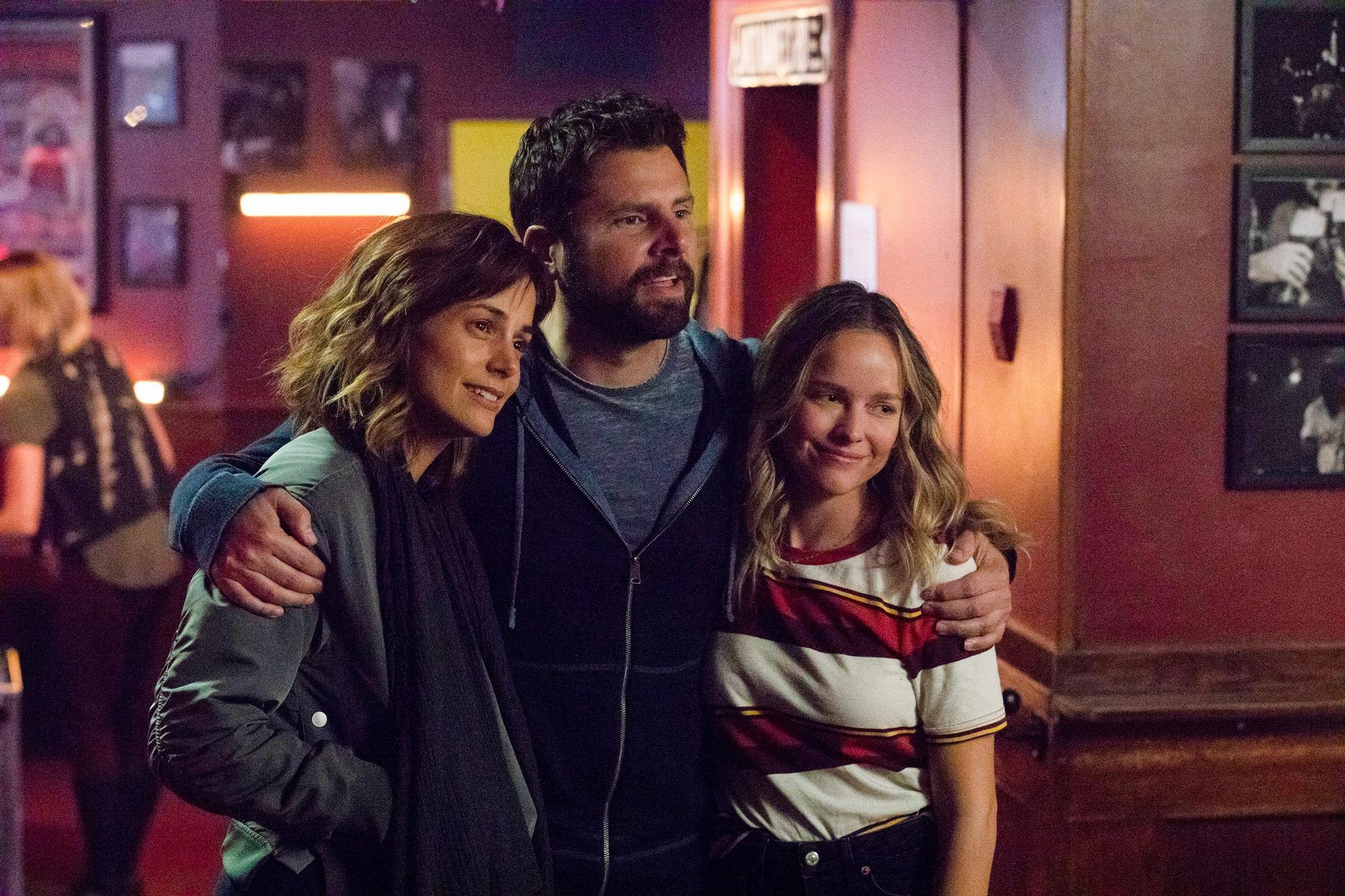 STEPHANIE SZOSTAK, JAMES RODAY, ALLISON MILLER