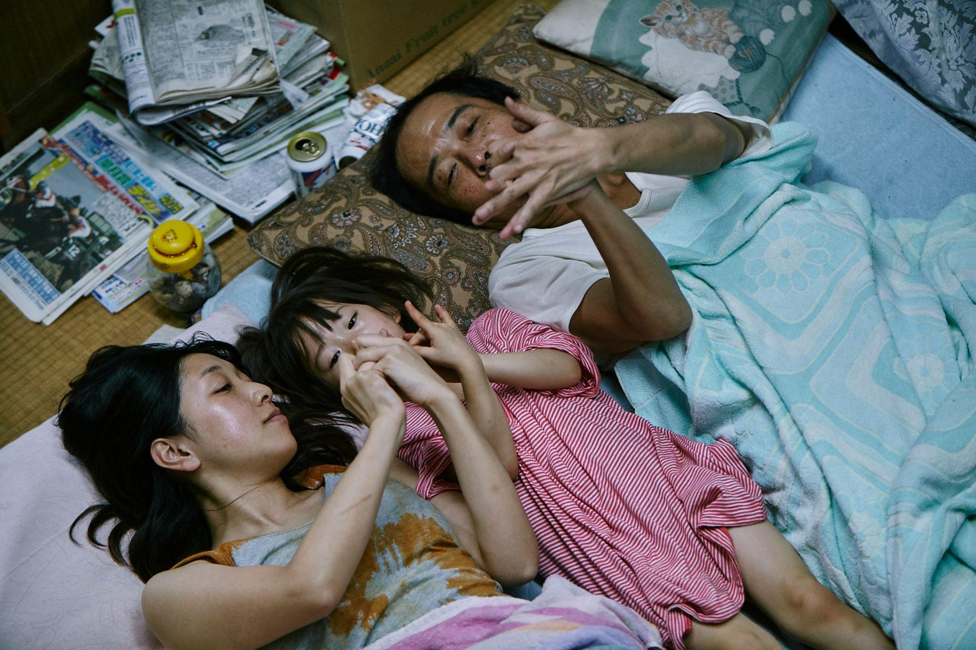 ShopliftersAndo Sakura, Sasaki Miyu and Lily Franky