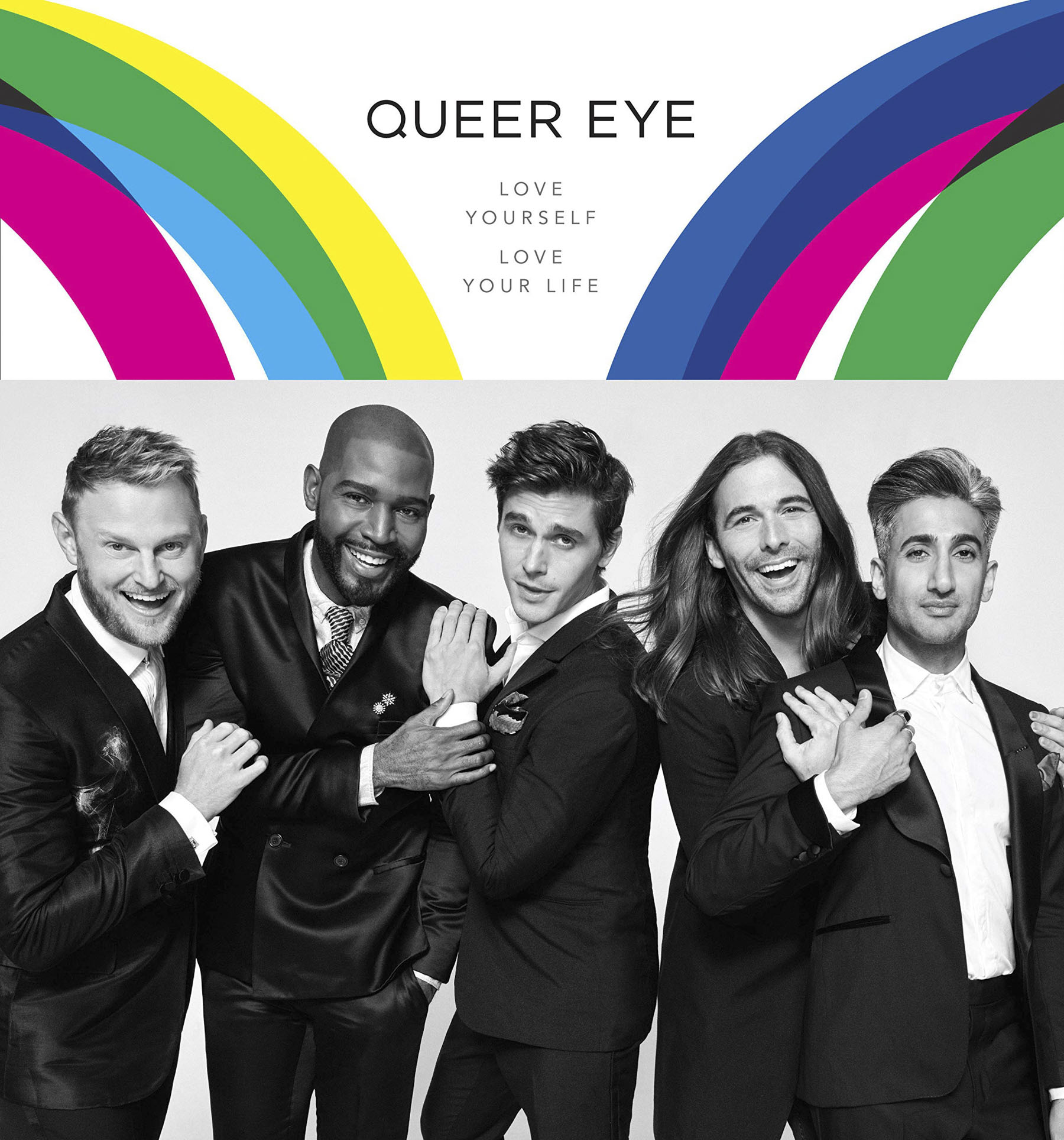 Finally, your book: Queer Eye: Love Yourself, Love Your Life. The photo shoots in it are so fun: Was there any one really funny photo shoot moment that happened?