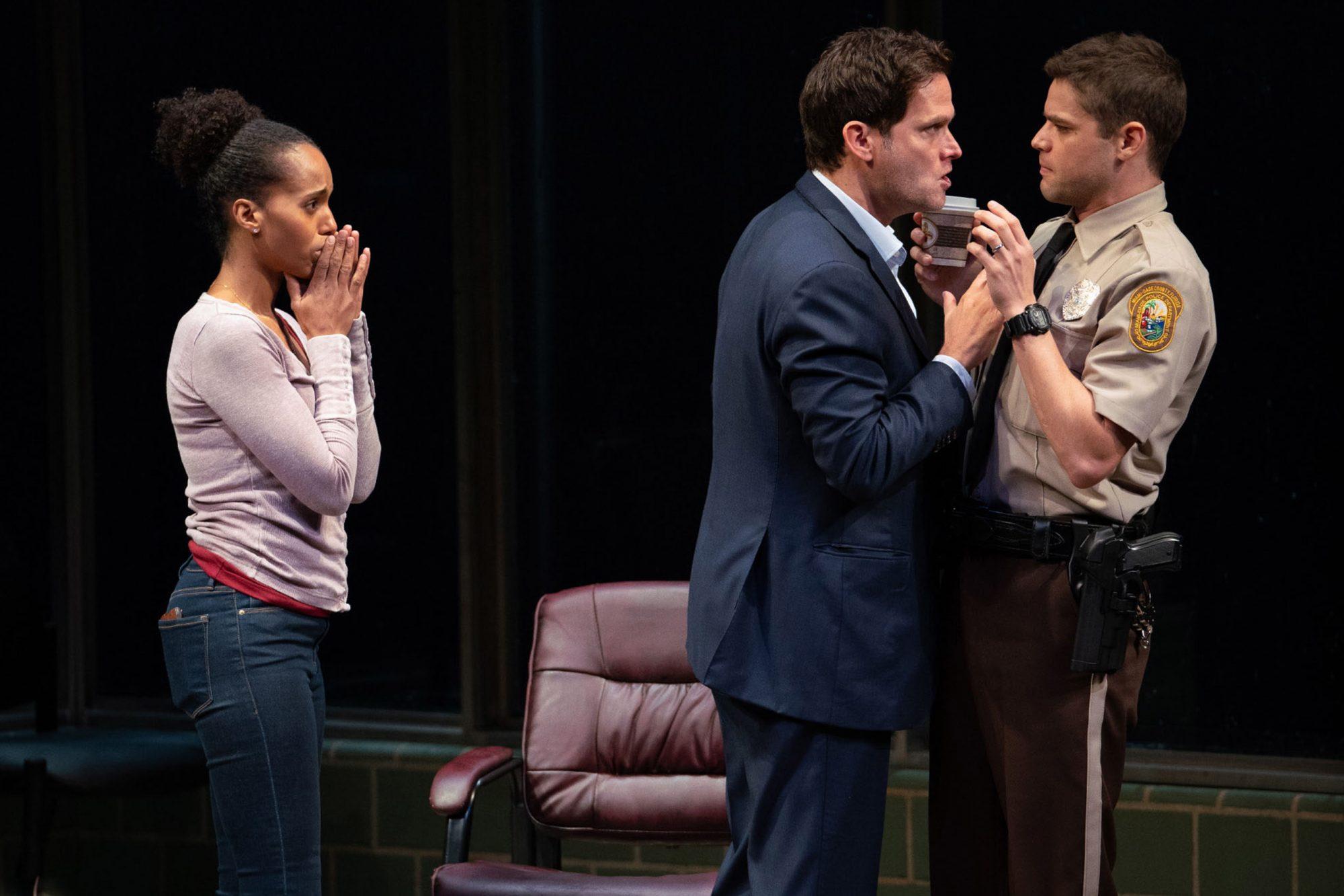 American Sonon BroadwayKerry Washington, Steven Pasquale, Jeremy Jordan