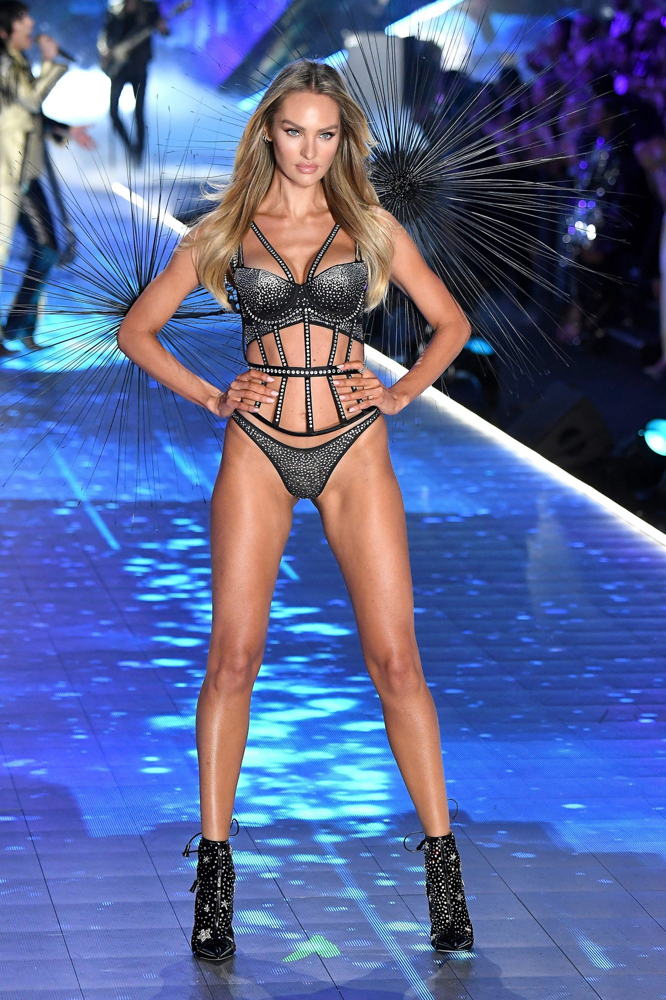 Candice Swanepoel on the catwalk