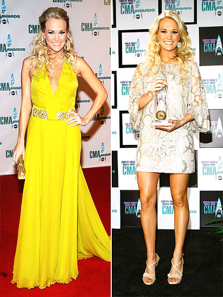 Carrie Underwood's Most Memorable CMA Awards Outfits Through the Years