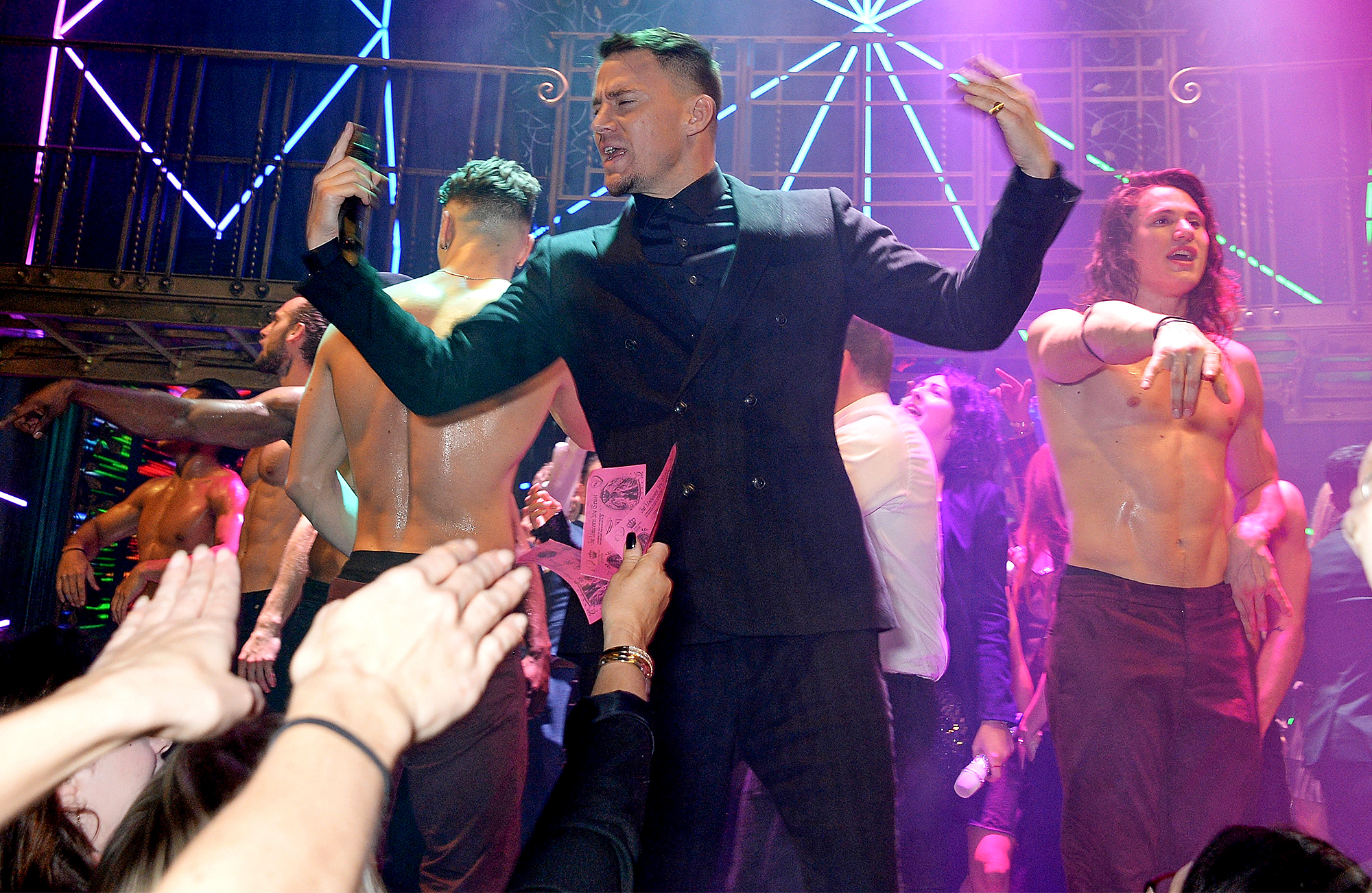 "Channing Tatum's ""Magic Mike Live"" Opens In London"