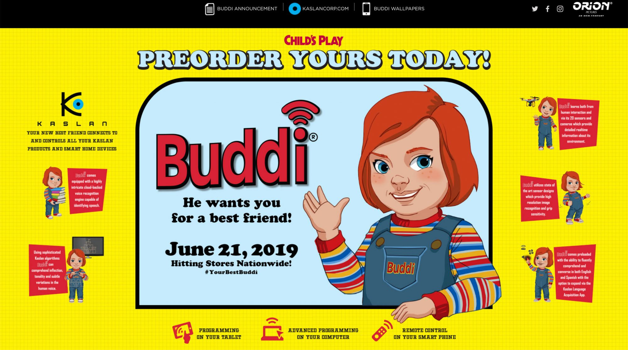 https://bestbuddi.com/Child's PlayCR: Orion Pictures