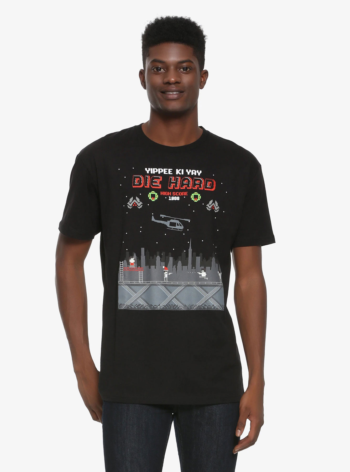 Die Hard giftsDie Hard 8-bit Tee (Available at Box Lunch)