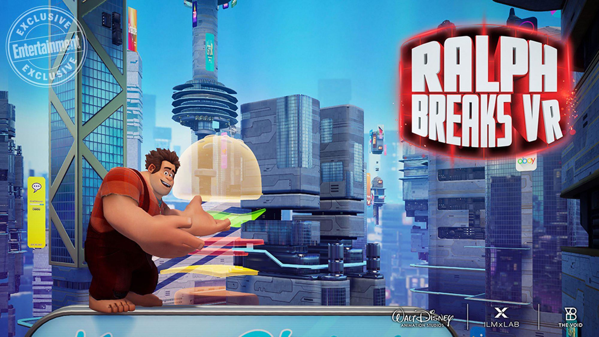Ralph Breaks VRCR: Disney/VOID/ILMxLAB