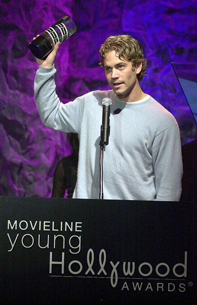 Paul Walker at the 3rd Annual Movieline Young Hollywood Awards on April 29, 2001