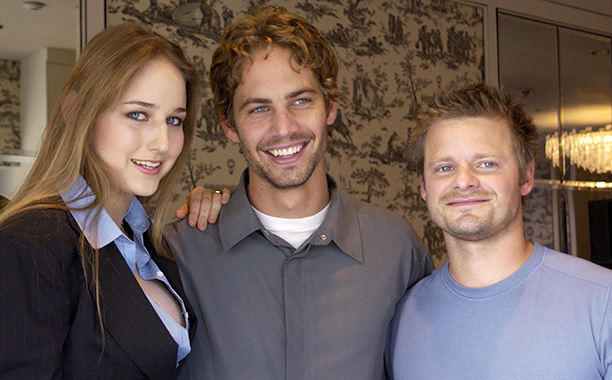 Paul Walker WIth Leelee Sobieski and Steve Zahn Promoting Joy Ride in Toronto on September 9, 2001