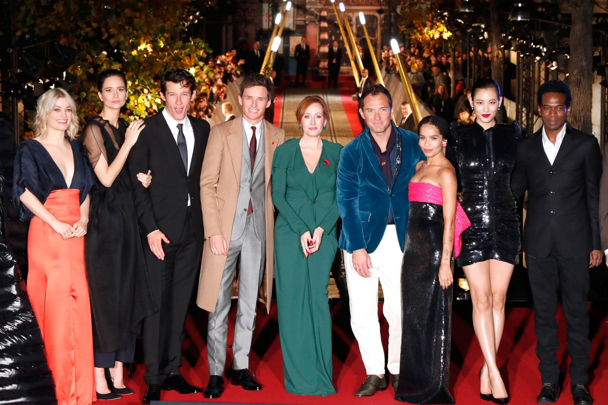 """Fantastic Beasts: The Crimes Of Grindelwald"" World Premiere At UCG Bercy In Paris"