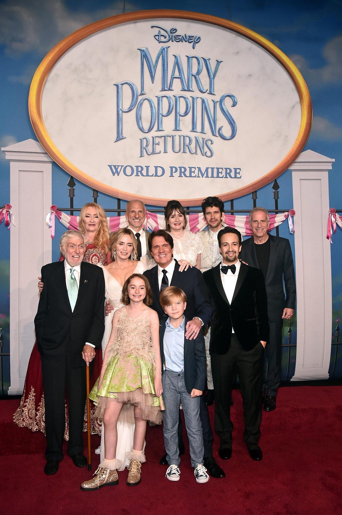 Disney's 'Mary Poppins Returns' World Premiere