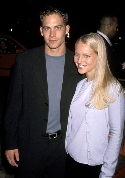Paul Walker With Bliss Ellis at the Pleasantville Los Angeles Premiere on October 19, 1998