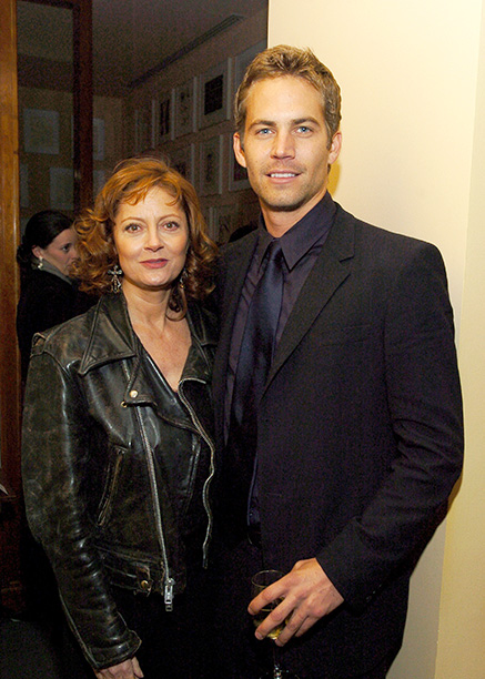 Paul Walker With Susan Sarandon at the Noel New York City Premiere After Party on November 9, 2004