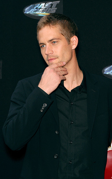 Paul Walker at the Paris Premiere of 2 Fast 2 Furious on June 12, 2003