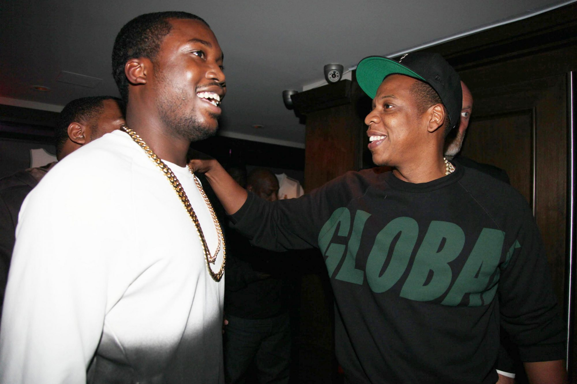 Meek Mill and Jay-Z in 2012