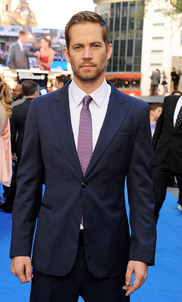 Paul Walker at the World Premiere of Fast & Furious 6 in London, England on May 7, 2013