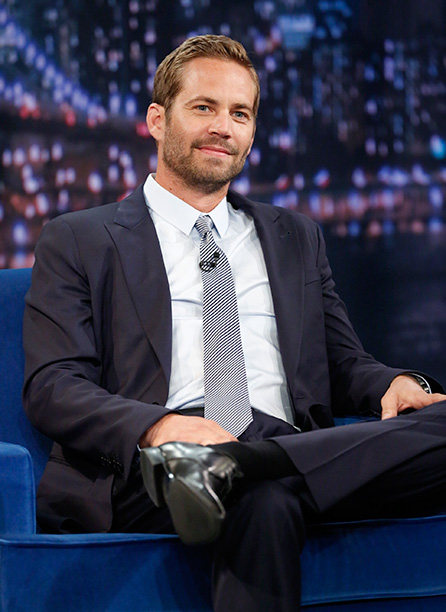 Paul Walker on Late Night with Jimmy Fallon on May 24, 2013