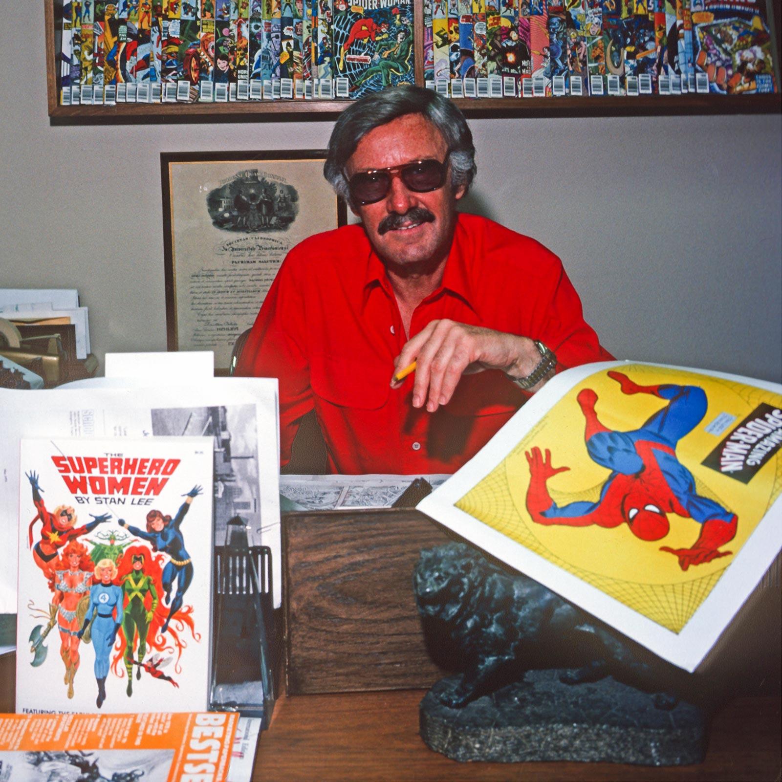 Stan Lee Of Marvel Comics